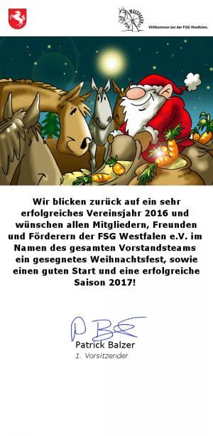 Wünsche zum Jahresende